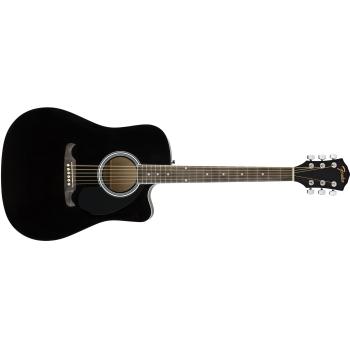 Fender FA-125CE Black. Guitarra Acústica