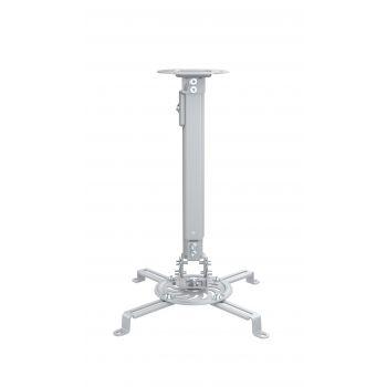 Fonestar SPR-549P Soporte orientable y extensible de techo para proyectores Plata