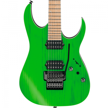 Ibanez RGR5220M-TGF Prestige Japan Transparent Fluorescent Green + Estuche