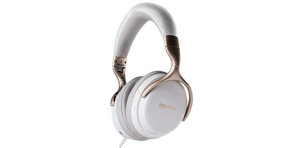 DENON AH GC30 white Auricular Bluetooth Reduccion Ruido blanco teclado cable