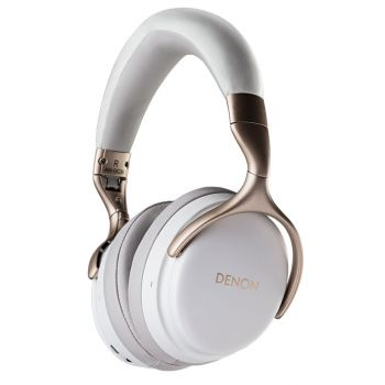 DENON AH-GC30 White Auricular Bluetooth Reduccion Ruido Hi-RES