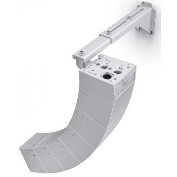 Ld Systems Curv 500 Wmbl Soporte montaje en pared  para hasta 6 satélites blancos