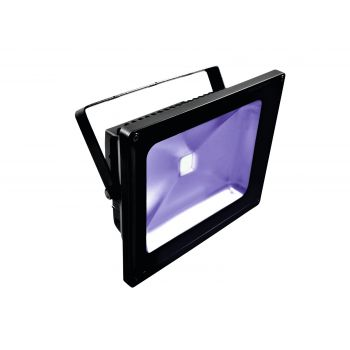 Eurolite Led IP FL-50 COB UV Foco IP65 Luz Negra