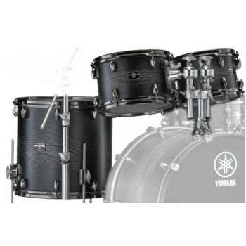 Yamaha Live Custom Hybrid Charcoal Sunburst Set Toms 10/12/16 LHP6F3