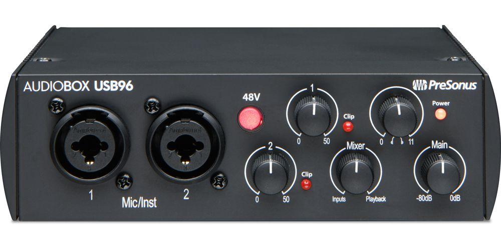presonus audiobox usb96 25 aniversario interface audio