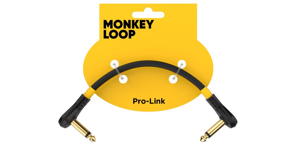 monkey loop pro link pedal guitar patch cable 5cm packaging
