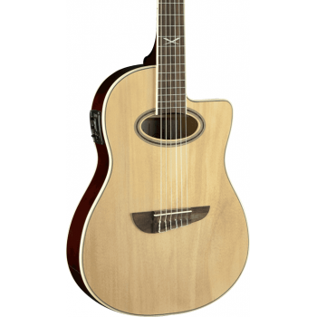 Eko NXT N100 Natural Nylon Cutaway Guitarra Acustica
