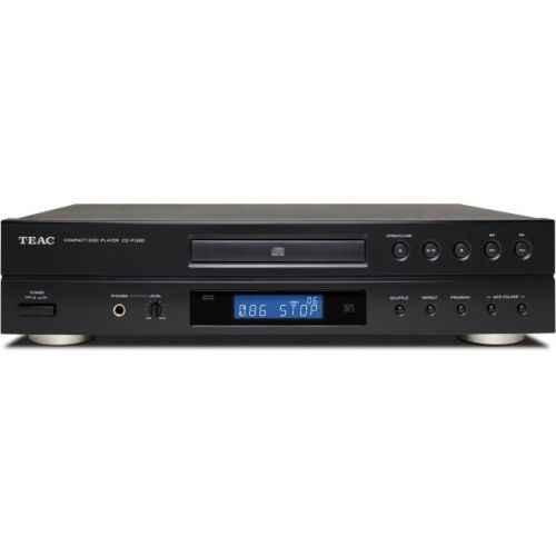 TEAC CD-P1260 Compact Disc CDP1260 , Negro