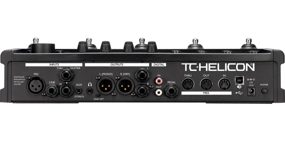 tc helicon voicelive 2 pedal multiefectos