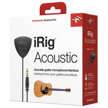 Ik Multimedia IRIG Acoustic Interface de Guitarra