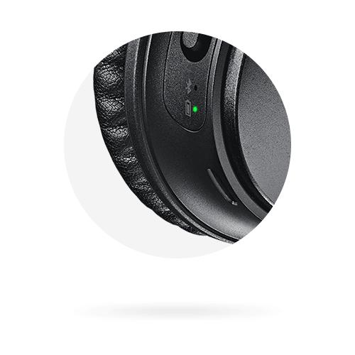 bose quietcomfort qc35 visual battery