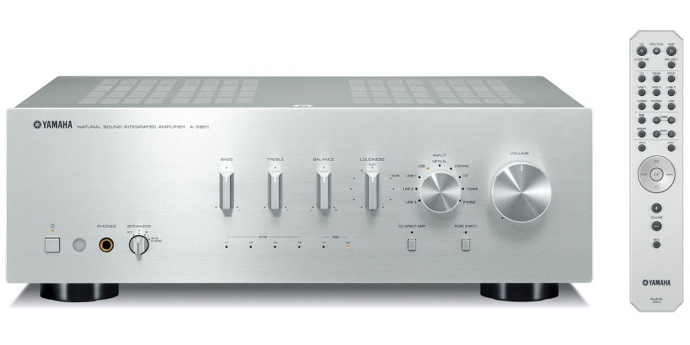 yamaha as801 silver amplificador alta gama musiccast