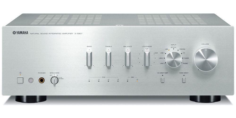 yamaha as801 silver amplificador