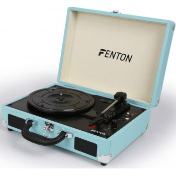 FENTON RP115 Reproductor giradiscos Maleta Azul 102106