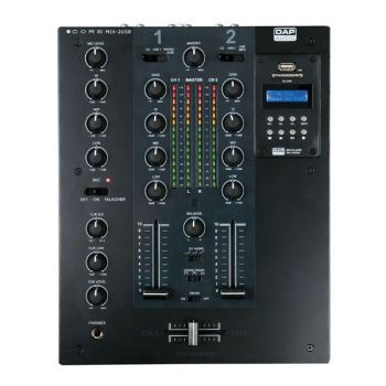 DAP Audio CORE MIX-2 USB Mezclador DJ