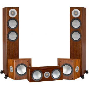 Monitor Audio Silver 200 AV12 Walnut , Silver200+silverFX+Silver C150