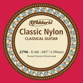 D´addario J2706 Cuerdas para Guitarra Española