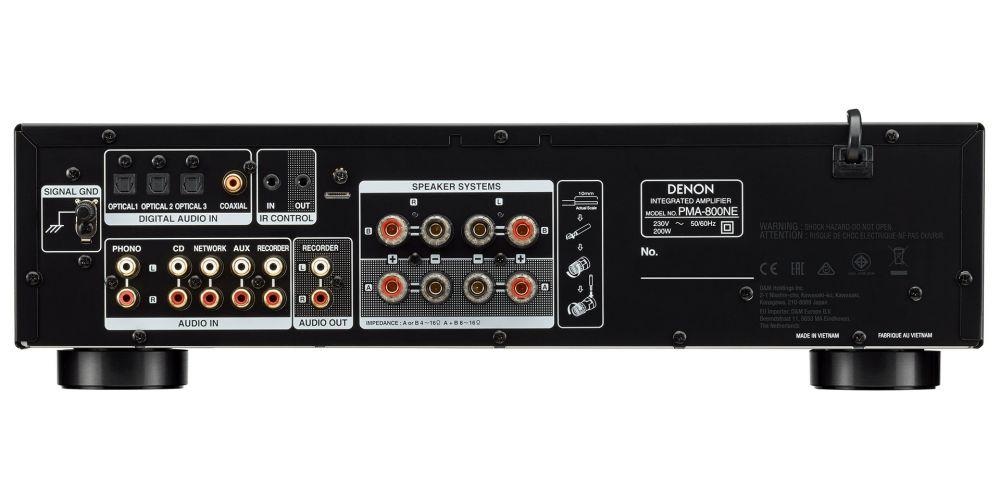 denon PMA800NE amplificador 4 entradas digitales