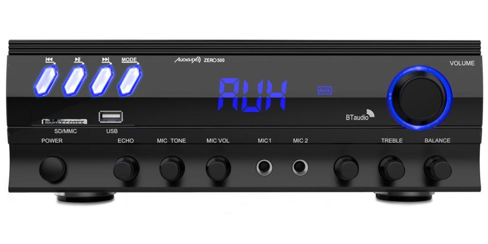audibax zero500 amplificador bluetooth karaoke