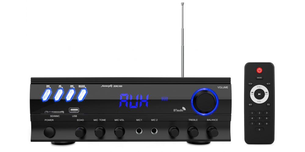 audibax zero500 amplificador hifi bluetooth