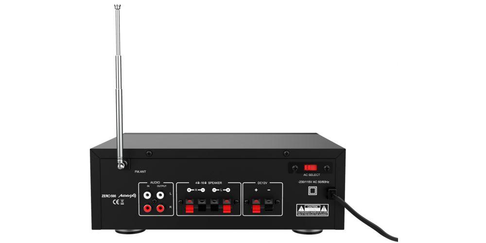 audibax zero500 amplificador hifi