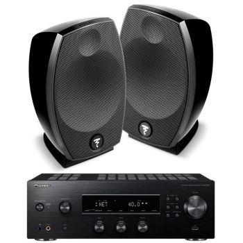 PIONEER SX-N30AE Black+Focal sib Evo Conjunto altavoces