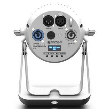 Cameo Q-Spot 40 Cw Wh Foco Compacto Con Led Blanco