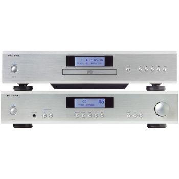 ROTEL A-11 Silver+CD-11 Silver Conjunto Sonido