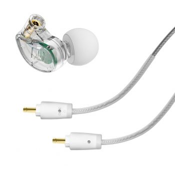 Mee Audio M6 PRO G2 Clear Auriculares In Ear Universales Aislamiento Transparentes