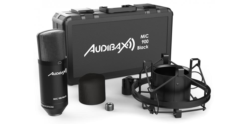 audibax mic900 black comprar