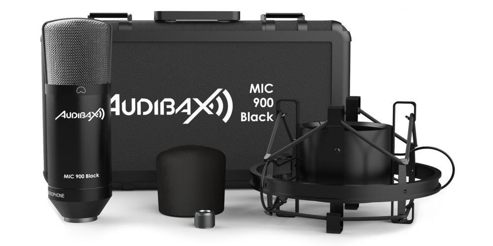 microfono mic900 black audibax