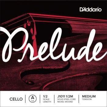D´addario J1011 Cuerda para Violonchelo Prelude La (A), 1/2 tensión media