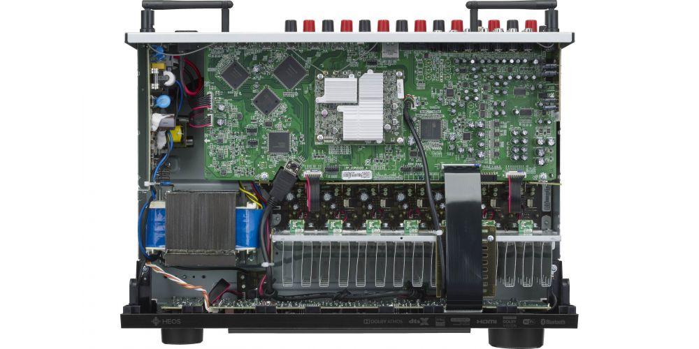 DENON Equipo AV AVR X1600H receptor audio conexiones construccion