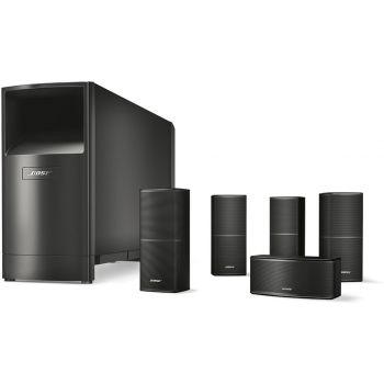 DENON Equipo AV AVR-X1600H + Bose AM-10V Negro Conjunto Home Cinema