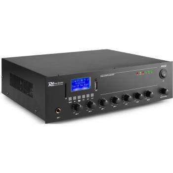 Power Dynamics PPA60 Amplificador Mezclador 100v 50W USB/MP3,Bluetooth