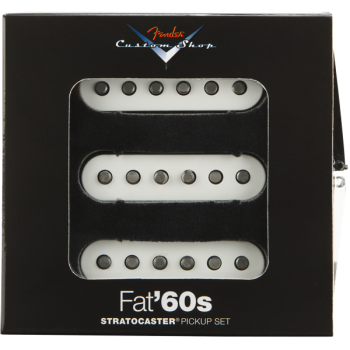 Fender Custom Shop Fa 60s Stratocaster Pickups Set de Pastillas