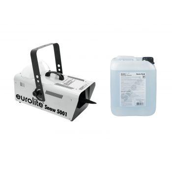 Eurolite Set Snow 5001 Máquina de Nieve + Líquido 5L