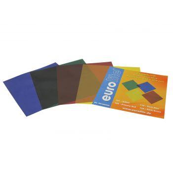 Eurolite Juego de Láminas de Colores 24x24cm 4 Colores