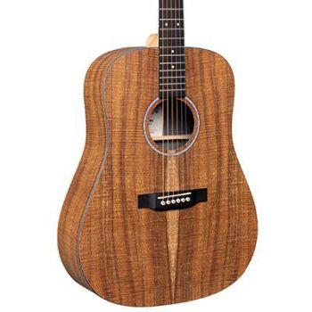 Martin DX1E-01 Guitarra Electroacústica con Funda de Transporte