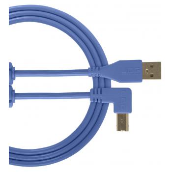 Udg U95006LB Ultimate Cable USB 2.0 A-B Azul en Angulo 3M