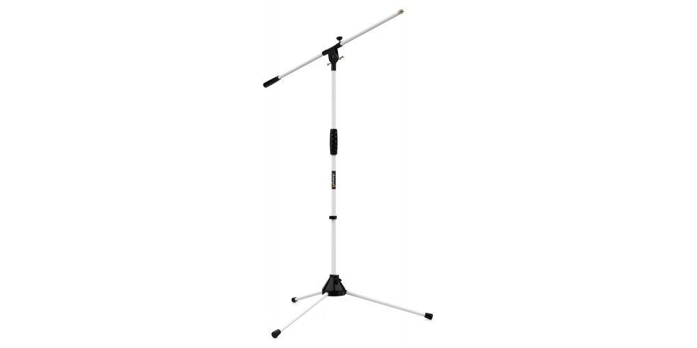 audibax ayra 10 white soporte microfono ajustable profesional