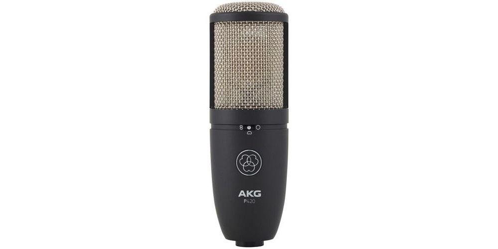 akg p 420 micro studio
