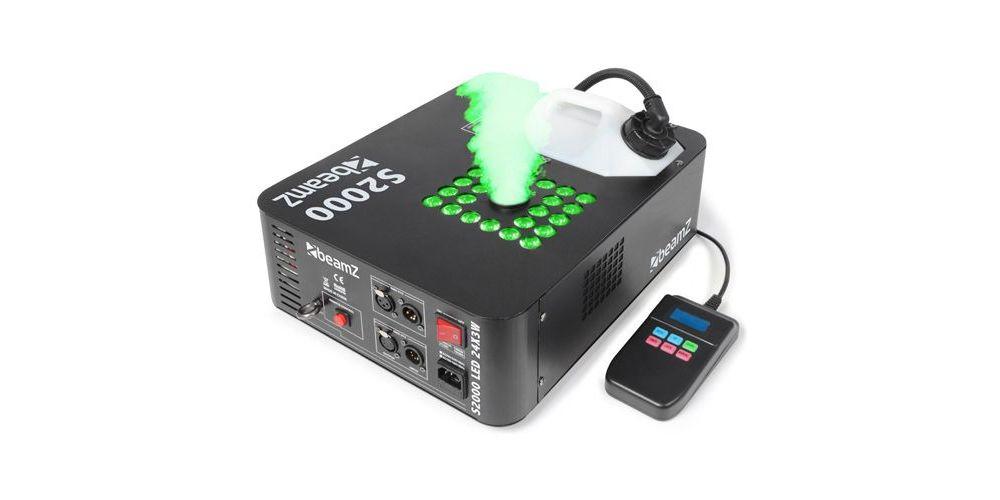 BEAMZ 160500 S2000 Maquina de Humo DMX con efecto LED 24x 3W