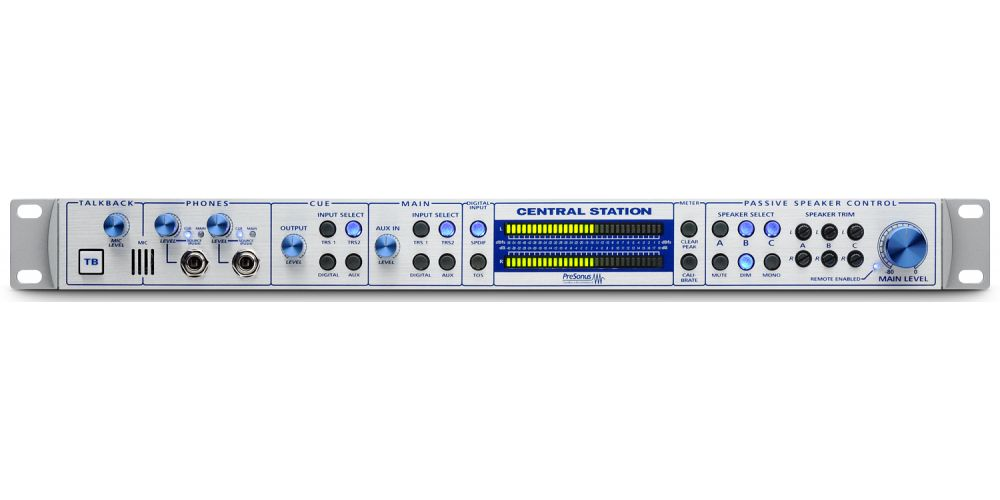 presonus central station front interface