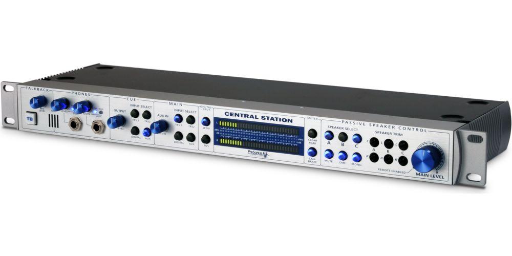presonus central station interface monitorizacion