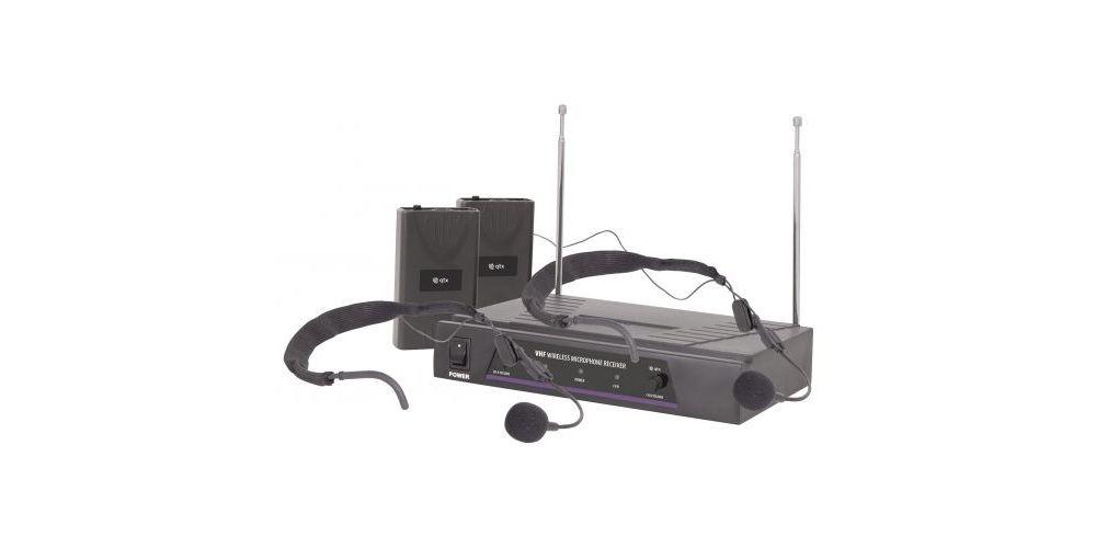qtx vn2 microfono doble diadema oferta