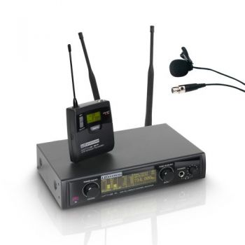 LD SYSTEMS WIN 42 BPL Sistema inalámbrico con Petaca y Micrófono Lav