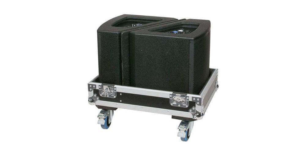 dap audio flightcase 2x monitores escenario 12 d7319 speaker