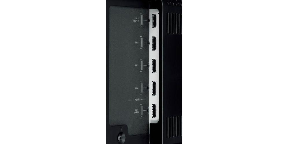 yamaha ysp 5600 proyector sonido conexiones hdmi