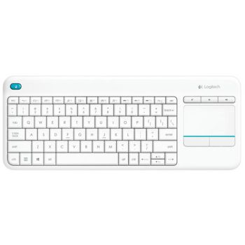 LOGITECH K400 Plus BLANCO Mando Teclado Smart Tv REACONDICIONADO